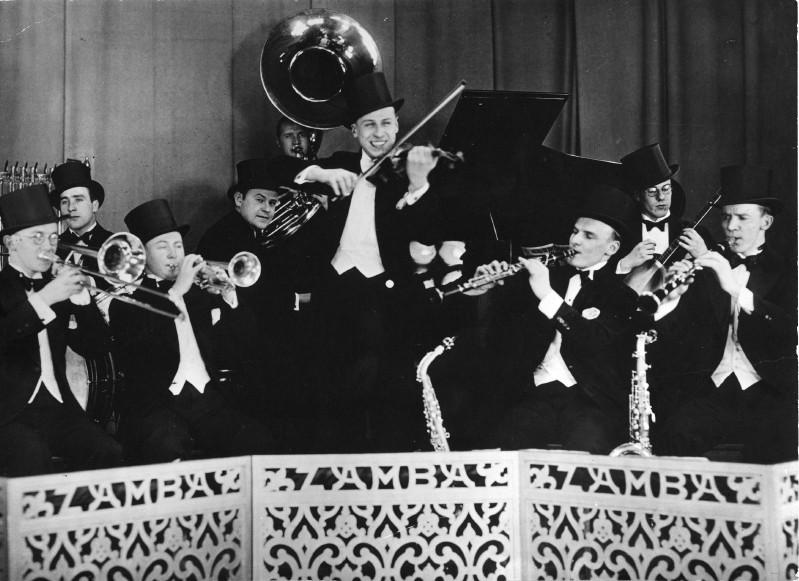 Wilfred Tuomikoski ja Zamba-orkesteri n. 1932